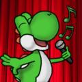 bernyanyi Yoshi