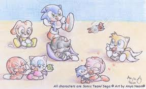 Sonic Babies - sonic-the-hedgehog Photo