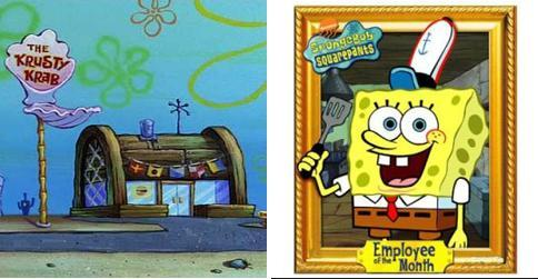 Spongebob and The Krusty Krab