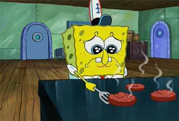 Spongebob sad