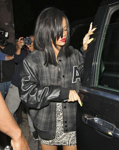 Spotted At Greystone Nightclub In Los Angeles [3 June 2012]
