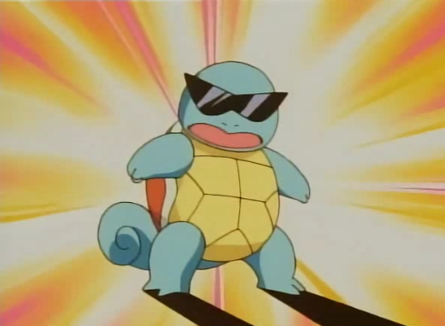 Squirtle With Sunglasses 7