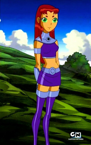 And too Teen titans starfire strip video