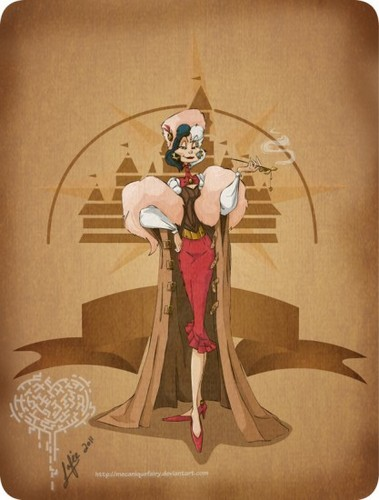 Steampunk Disney Villains - disney-villains Fan Art