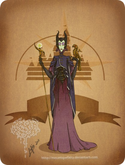 Steampunk Disney Villains