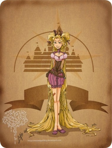 Steampunk Disney princess