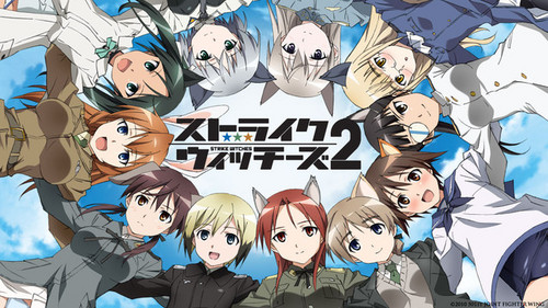 Strike Witches দেওয়ালপত্র probably containing জীবন্ত called Strike Witches 2