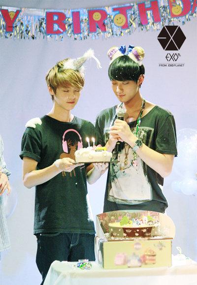 Tao and Lu Han Birthday