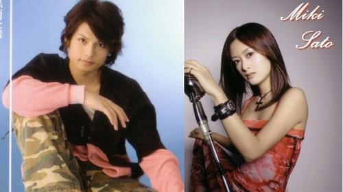Tatsuya Isaka & Miki Sato (Ichigo & Rukia's actors for the musical)