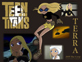 Terra - teen-titans-vs-young-justice wallpaper