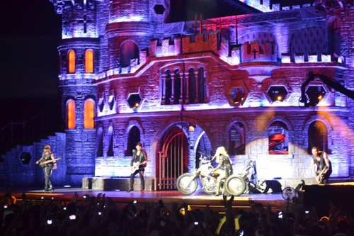 The Born This Way Ball Tour in Auckland (June 7) - lady-gaga Photo