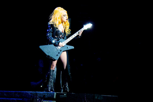 The Born This Way Ball Tour in Auckland (June 8) - lady-gaga Photo