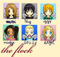 The Flock: Chibi/Anime Style