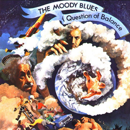 The Moody blues سوال of balance
