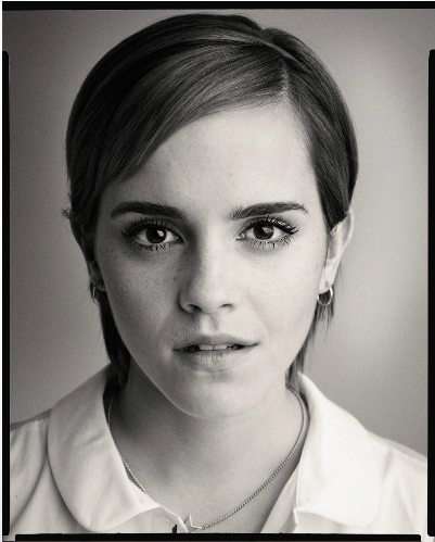 The Perks of Being a Wallflower - Sam Jones Portrait - emma-watson Photo