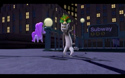 The Return of King Julien's Booty Scratcher