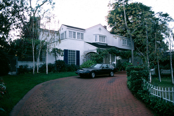 Their house in Beverly Hills
