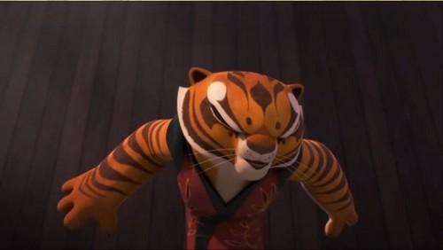 tigress Sneezes