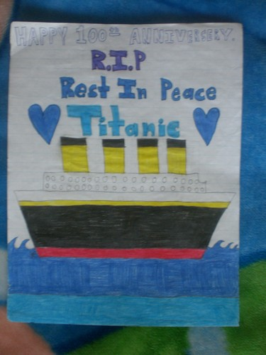 Titanic's Rememberance and 100th Anniversary