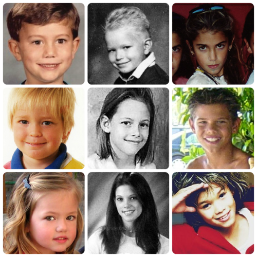 Twilight Series wallpaper probably with a portrait called Twilight Cast as Kids