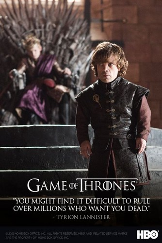 Tyrion Lannister- Quote Poster