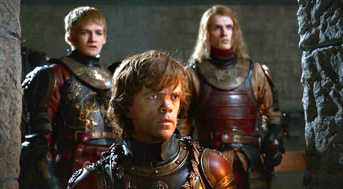 Tyrion and Lancel with Joffrey - house-lannister Photo