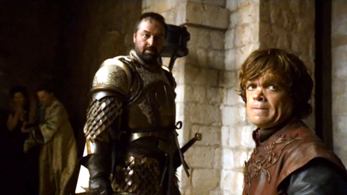 Tyrion and Meryn Trant