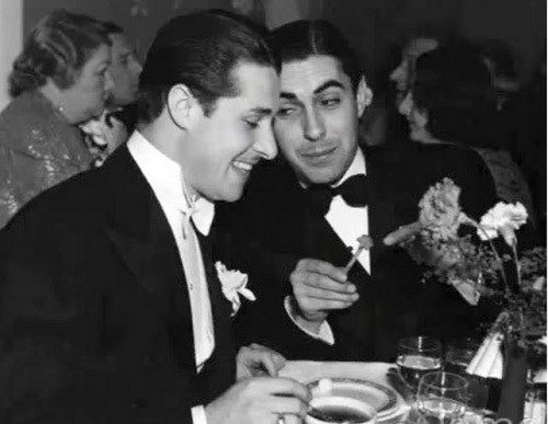 Tyrone Power & Don Ameche