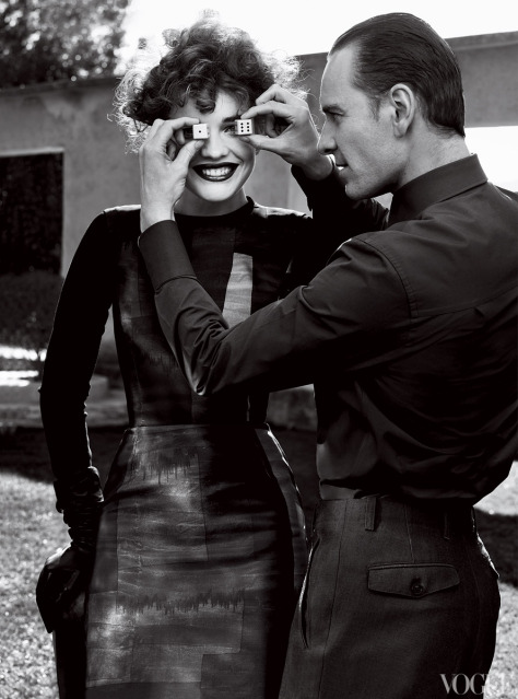 US Vogue May 2012 outtakes