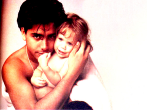 Uncle Jesse and Michelle Tanner images Uncle Jesse and Michelle wallpaper and background photos