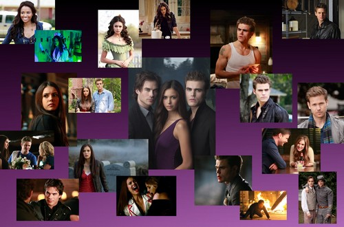 Vampire Diaries Hintergrund called VD SEASON 1