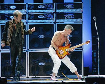 وین Halen پیپر وال containing a کنسرٹ and a guitarist entitled وین Halen