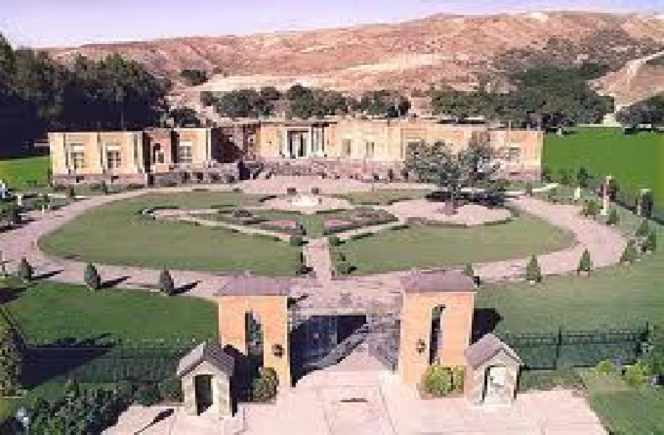 View of castillo