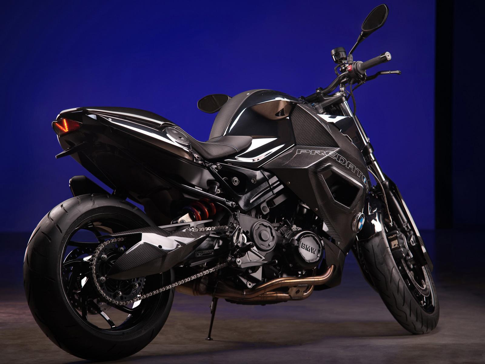 "Vilner Custom Bike BMW F800 R - ""Predator"""