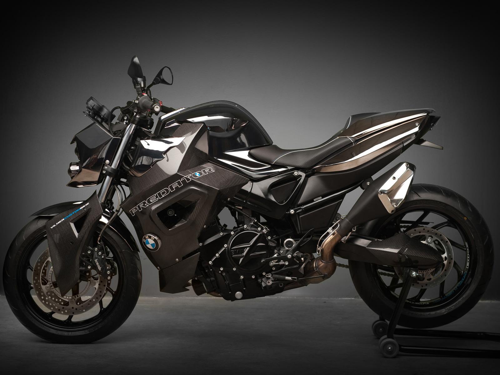 """Vilner Custom Bike 宝马 F800 R - """"Predator"""""""