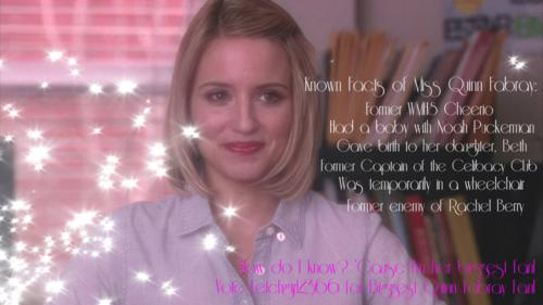 Vote Fetchgirl for Biggest Quinn Fan!
