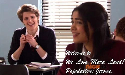Welcome to we 愛 Mara land! Population: Jerome!