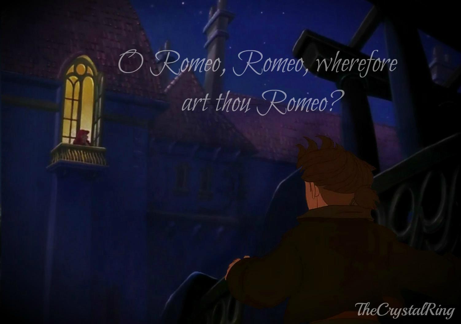 wherefore romeo