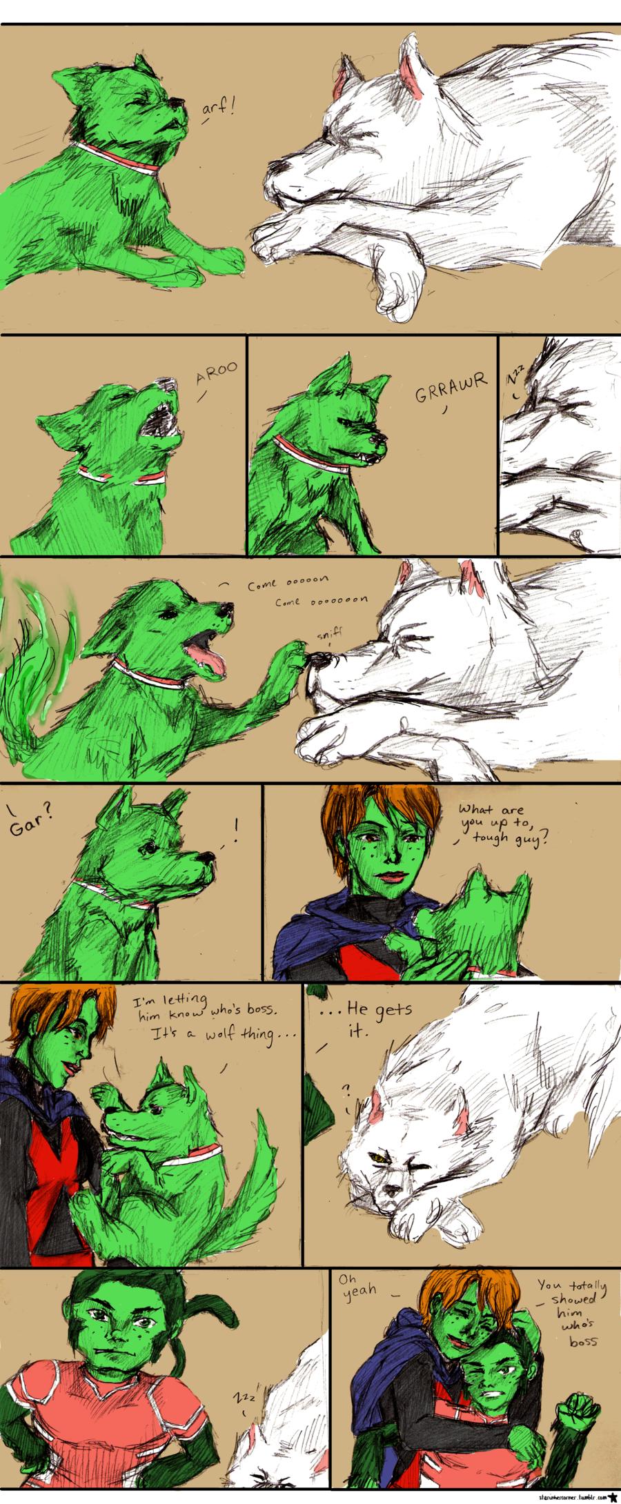 Wolf's a Good Boy