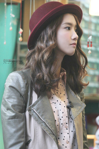 Yoona @ Guerilla rendez-vous amoureux, date