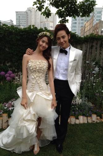 Yoona & Jang Geun Suk