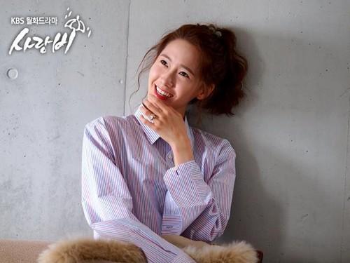 Yoona @ Cinta Rain