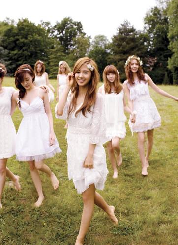 Yuri @ Girl Perfume Promotion Picture
