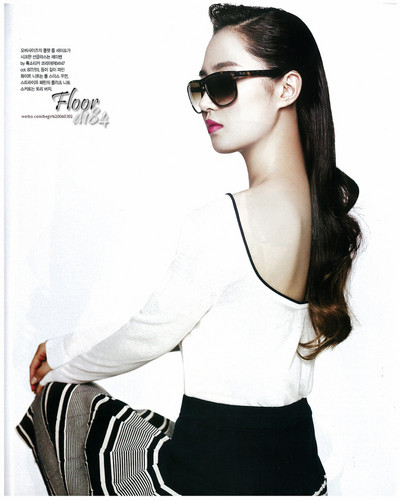 Yuri @ Instyle Magazine May Issue Scans HD