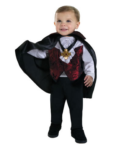 The Baby Count Dracula Costume is the perfect Halloween costume for you. Show off your Baby costume and impress your friends with this top quality selection from Costume SuperCenter!