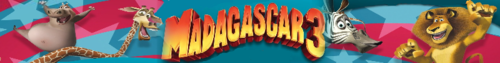 Madagascar 3 photo titled banner