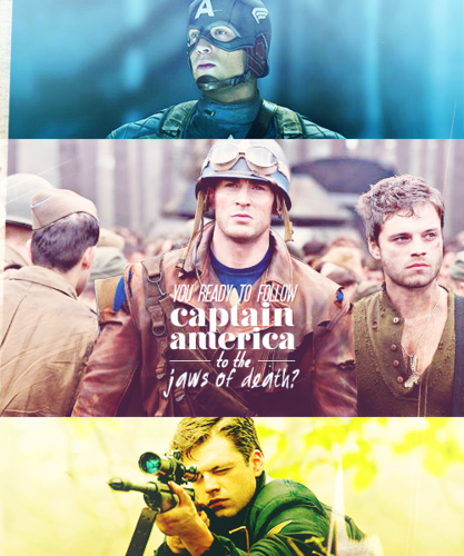 bucky barnes and captain america