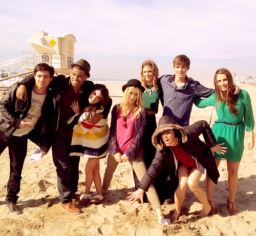 90210 wallpaper titled cast