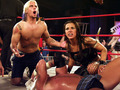 cm punk at tna with mickie james - cm-punk photo