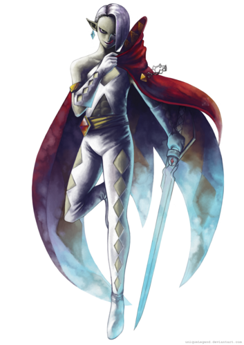 cool demon ghirahim